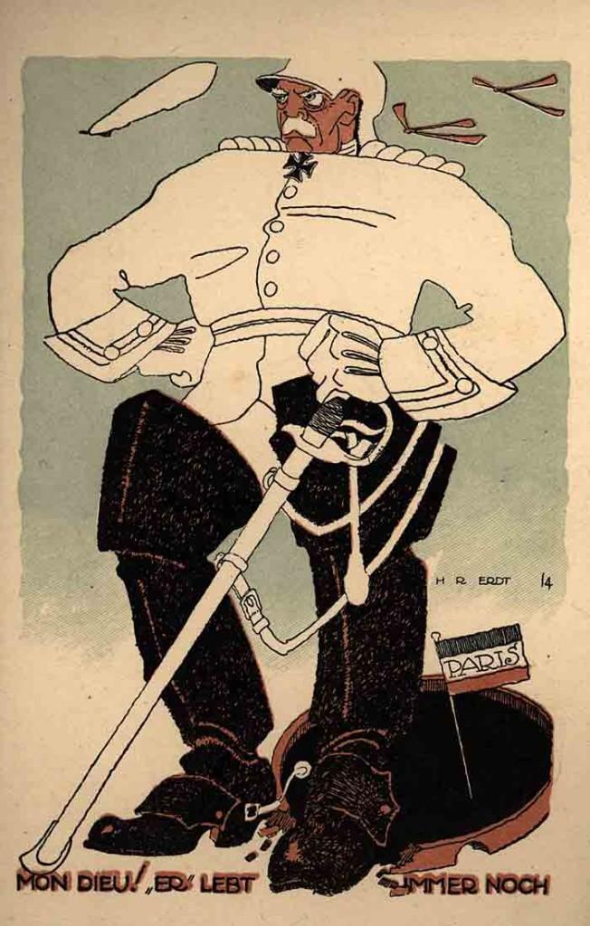 Bismarck als Sinnbild für die Überlegenheit Deutschlands