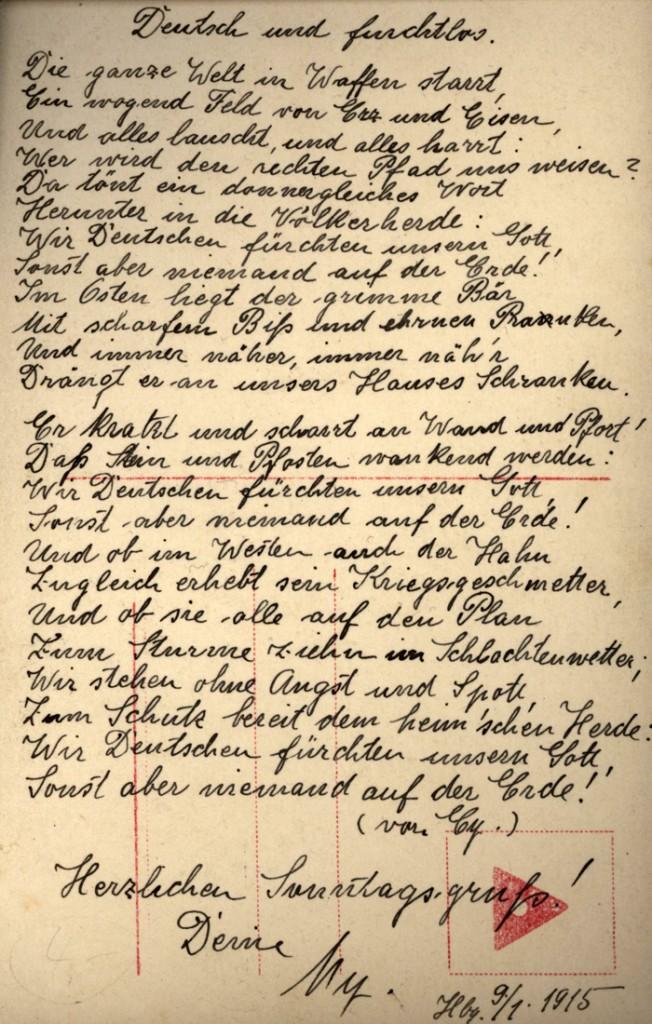 Patriotische Poesie